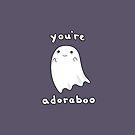Adoraboo Ghost by raediocloud
