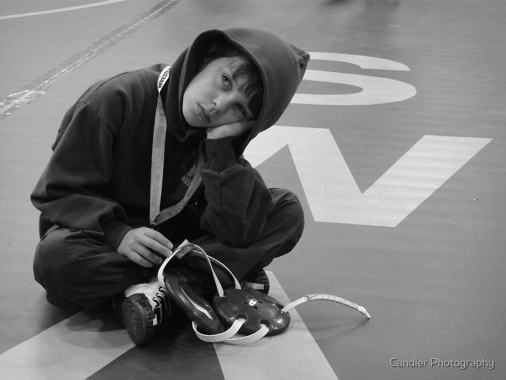 Tired Wrestler by Candler Photography