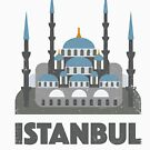 Blue Mosque Istanbul by designkitsch
