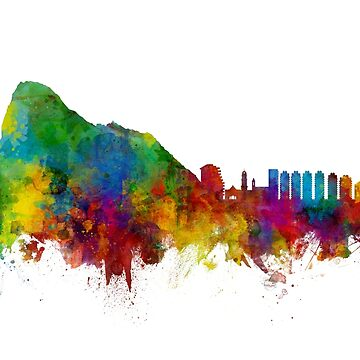 Gibraltar Skyline by ArtPrints
