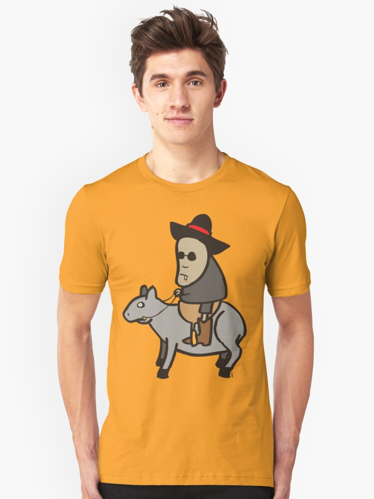 The tapir kid Unisex T-Shirt Front