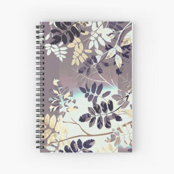 Interleaf - gray Spiral Notebook