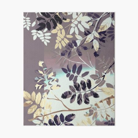 Interleaf - grey Galeriedruck