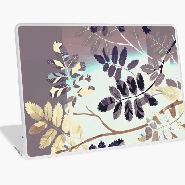 Interleaf - gray Laptop Skin