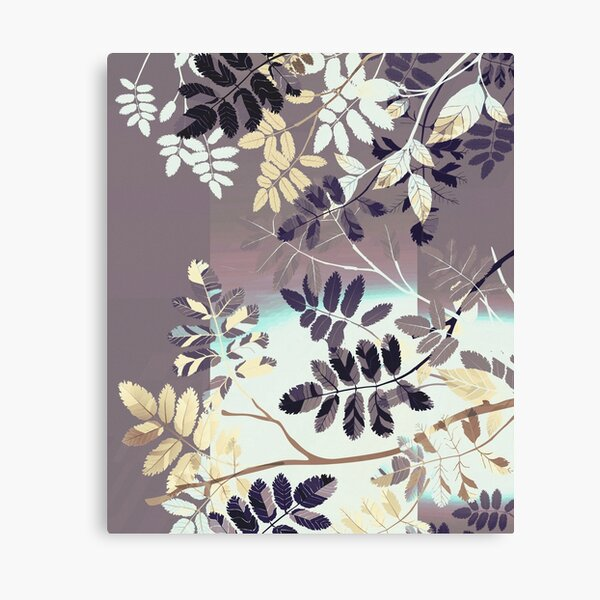 Interleaf - gray Canvas Print