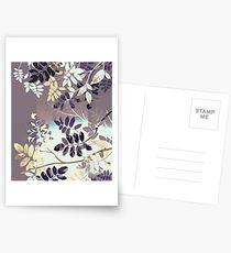 Interleaf - grey Postkarten