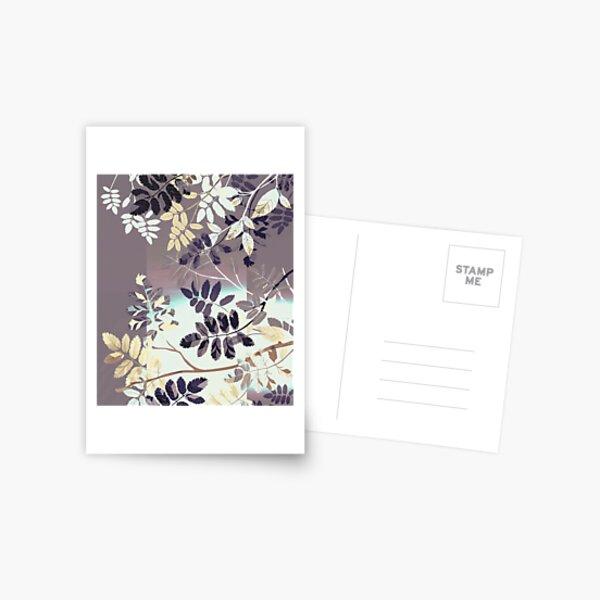 Interleaf - gray Postcard