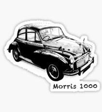 Morris 1000 Saloon Sticker