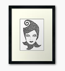 Jest What? Framed Print