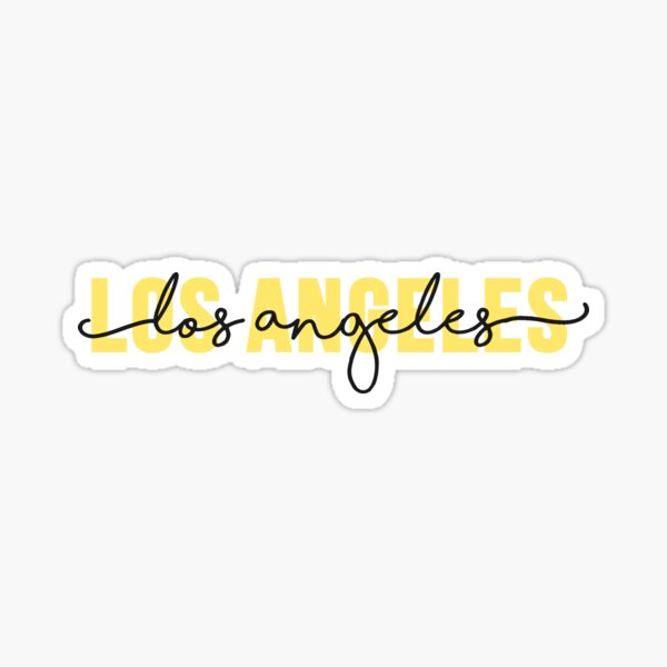 Los Angeles - Yellow Sticker