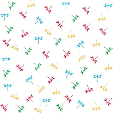 Colorful dragonflies pattern by igorsin