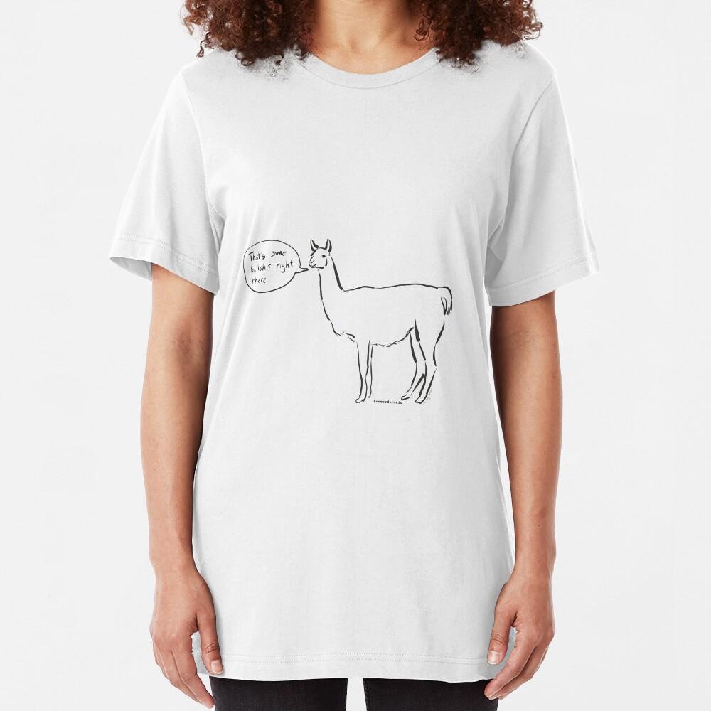 The Llama Slim Fit T-Shirt