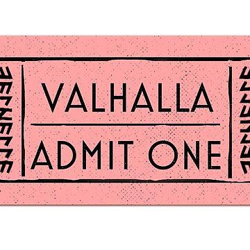 Valhalla Admit Ticket by dariasart