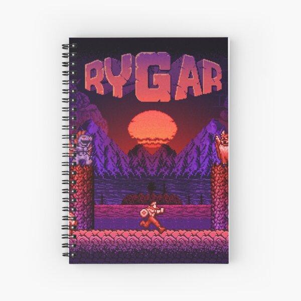 Legendary Warrior Spiral Notebook