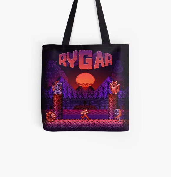 Legendary Warrior All Over Print Tote Bag
