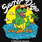Surfer dino by sager4ever