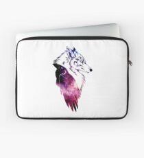 Galaxy Raven & Wolf Laptop Sleeve