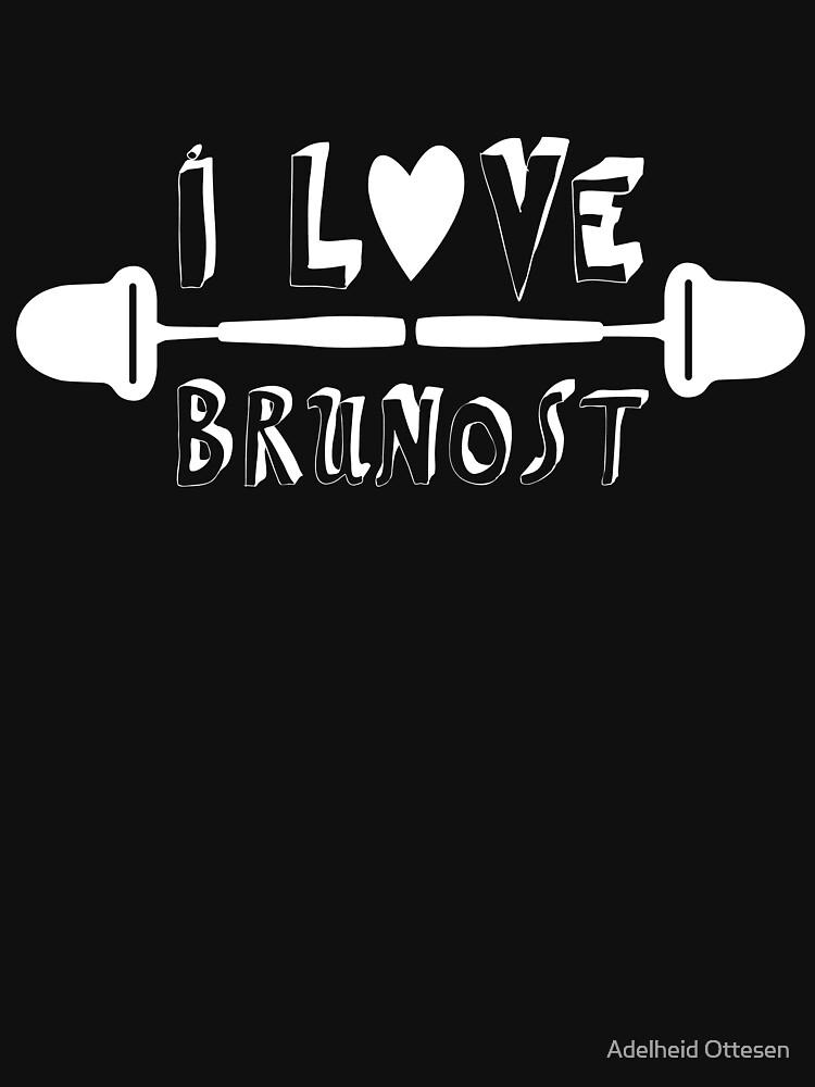 I love brunost - with all my heart! by artadelheid