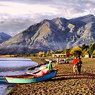 Pucon, Villarrica, Chile by Daidalos