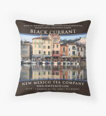 Currant Black Tea Throw Pillow