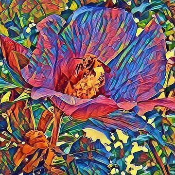 floral mood, abstract  by oirisha