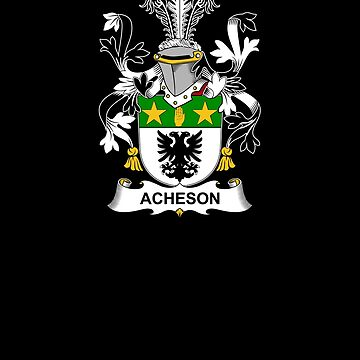 Acheson Coat of Arms - Family Crest Shirt by FamilyCrest