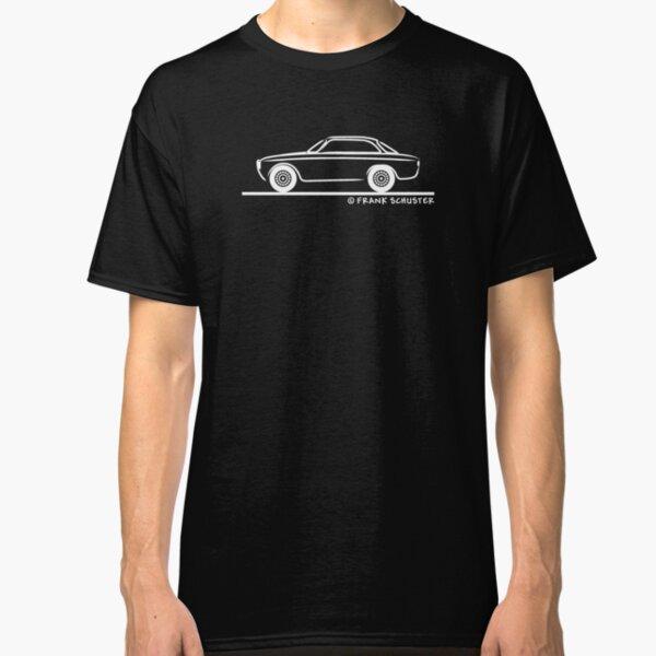 Alfa Romeo Stripes inspired Printed T-Shirt Personalised Classic GTV 75 156 red