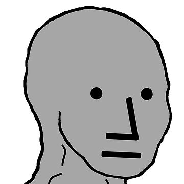 NPC Face - Wojak by RebarForOwt