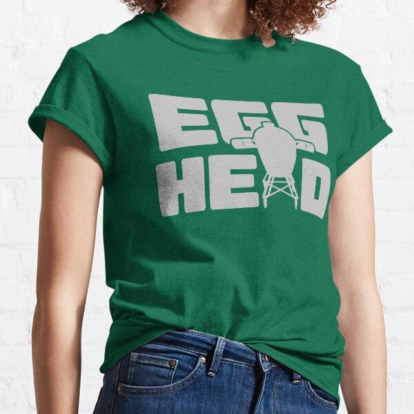 Großes grünes Ei BGE lustiger Geschenk-Fleisch-Raucher Classic T-Shirt