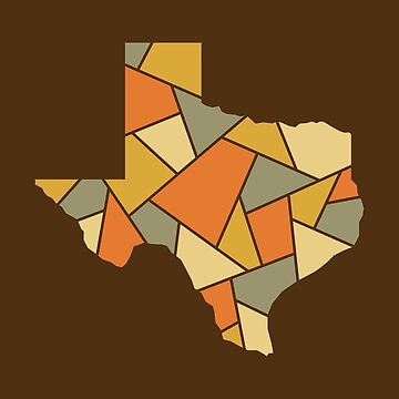 Texas Mosaic - Big Bend by DesignSyndicate