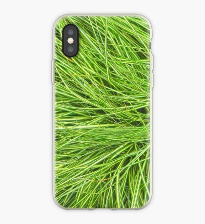 A Swirl of Grass III iPhone Case