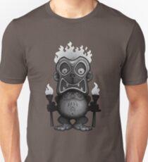 Tiki Munkee Black and White Unisex T-Shirt