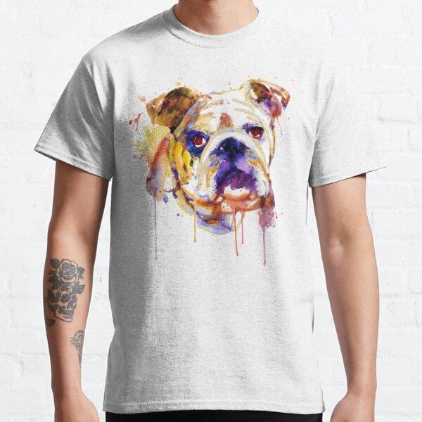 English Bulldog Head Classic T-Shirt