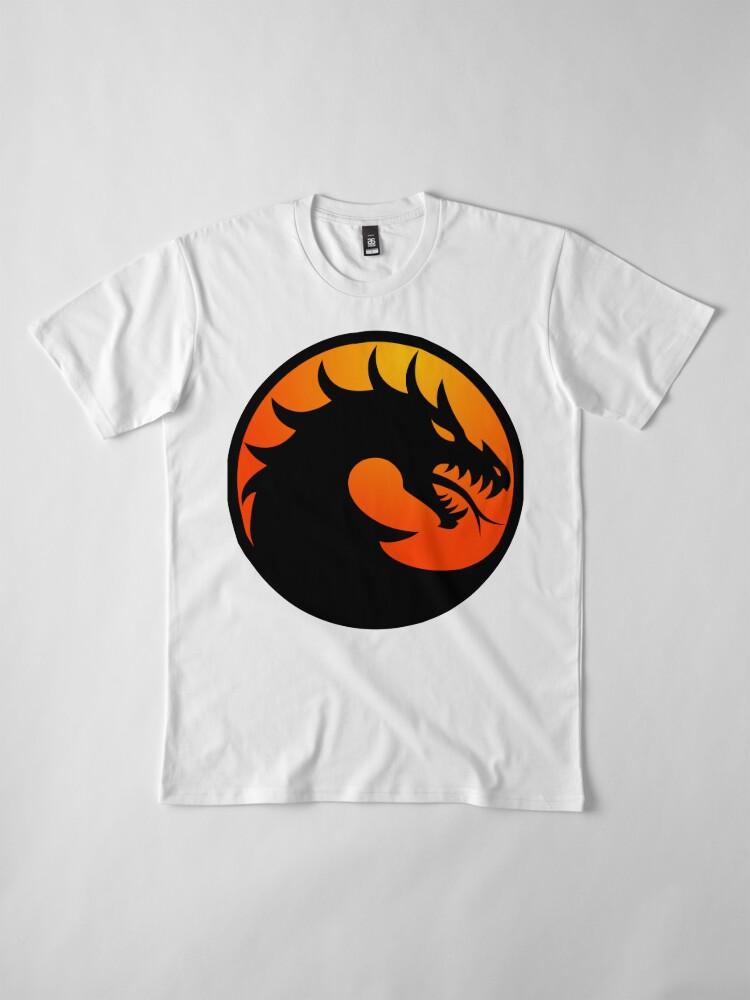 Alternate view of Mortal Dragon Kombat Premium T-Shirt