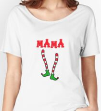 Elf family - mama elf Women's Relaxed Fit T-Shirt
