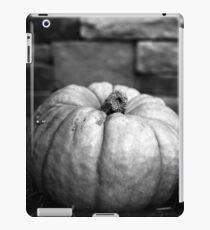 Schwarz-Weiß-Kürbis iPad-Hülle & Klebefolie