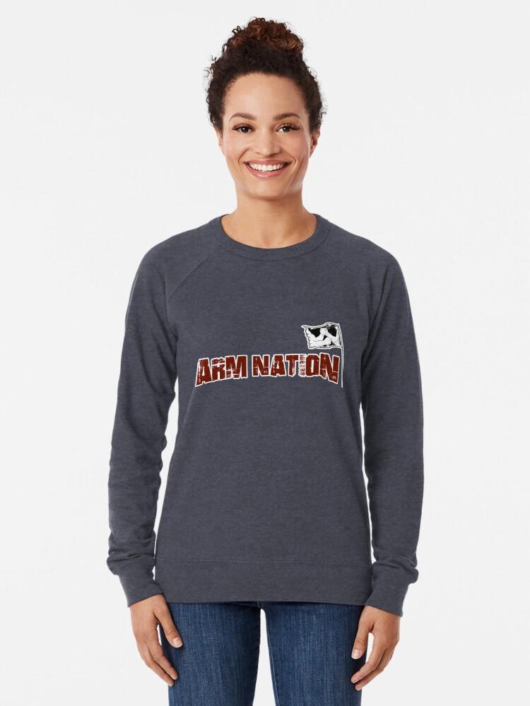 Alternate view of Arm Nation Merchandise Lightweight Sweatshirt