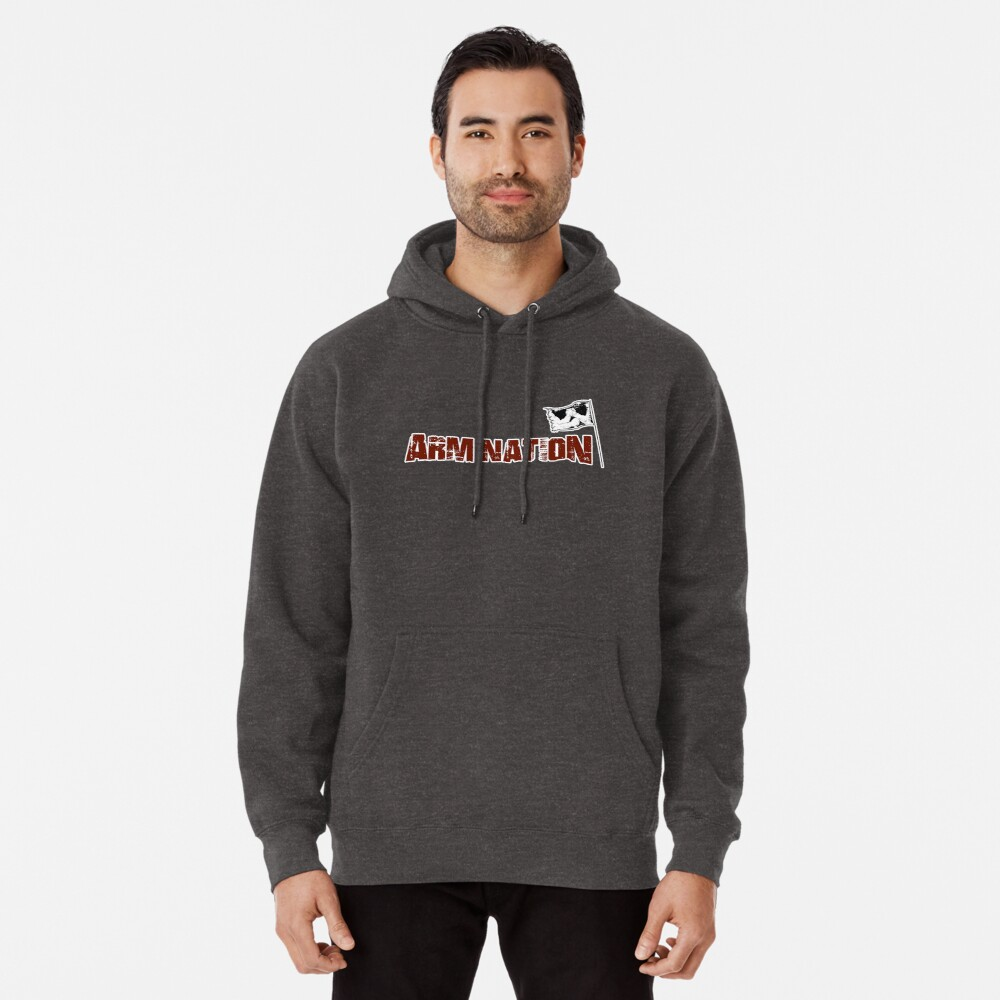 Arm Nation Merchandise Pullover Hoodie Front