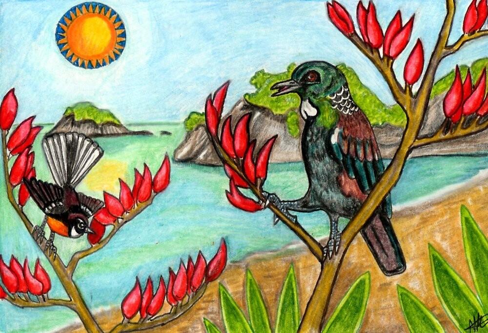 Aotearoa in Summer by lemurkat