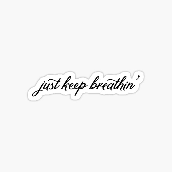 respirando ' Pegatina