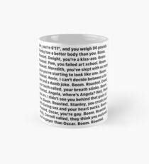 Michael Scott's Boom Roasted Speech Mug