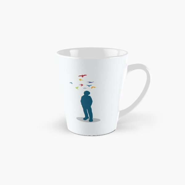 Dreamer (blue) Tall Mug