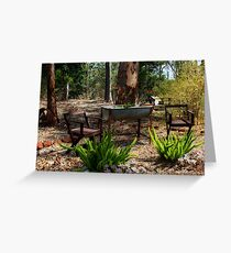 Sunny Ridge Gardens I Greeting Card