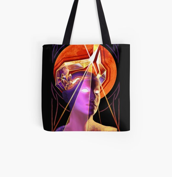 Ordained All Over Print Tote Bag