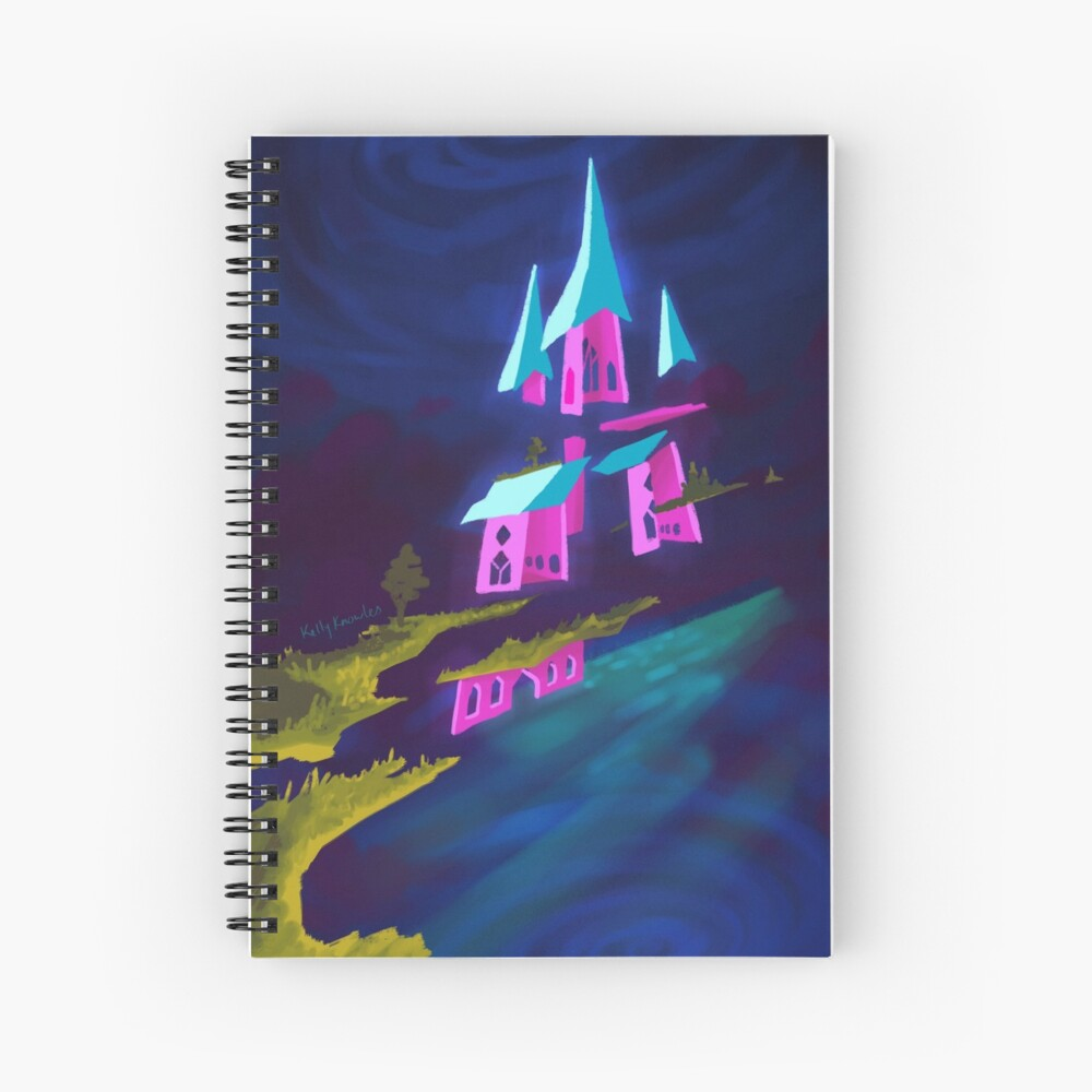 Castle in the Sky Spiral Notebook