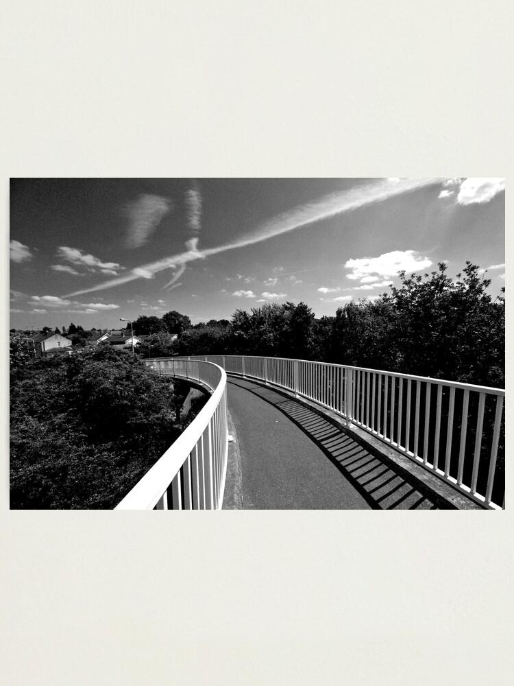 Alternate view of Bridge over A12 Photographic Print