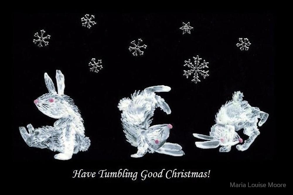 Tumble Bunnies by Maria Louise Moore