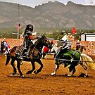 Medieval Jousting by Nancy Richard