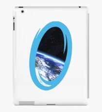 Portal 2: view from the moon iPad Case/Skin