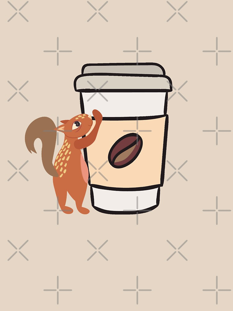 Caffeinated Squirrel by raineofiris